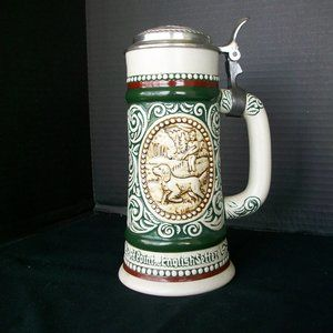 AVON Vintage Ceramic Stein with Lid